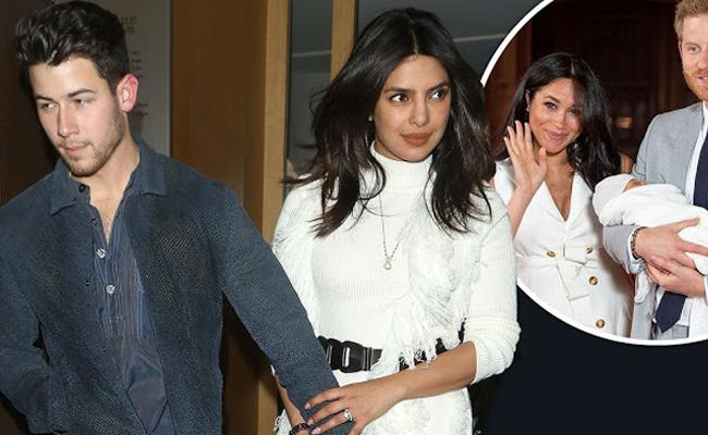 Priyanka Chopra Denies reports of her meeting Meghan Markle son Archie - Sakshi