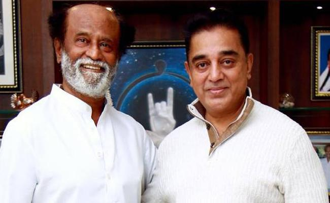 Will rajinikanth And Kamal Haasan Be Together In Political Journey - Sakshi