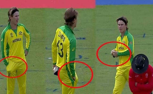 Adam Zampa Tamper Accusations of Australia Ball Tampering Go Viral - Sakshi