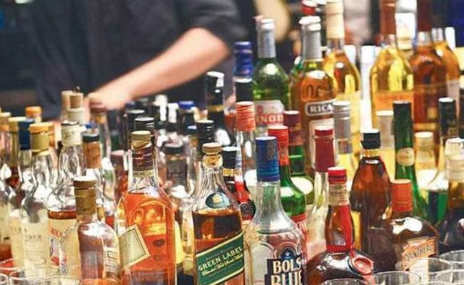 Alcohol Sale Is Decreased In Warangal - Sakshi