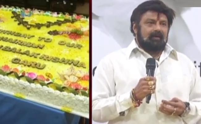 Balakrishna Speech At Basava Tarakam Cancer Hospital On Birthday Celebrations - Sakshi