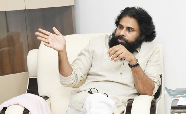 Pawan Kalyan Comments In Janasena Party Activists Meeting - Sakshi