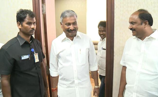 Ministers Visits AP Secretariat To Inspect Their Chambers - Sakshi
