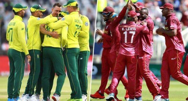 Precariously placed South Africa face uphill West Indies challenge - Sakshi