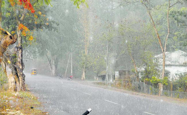 Rains To Telangana - Sakshi