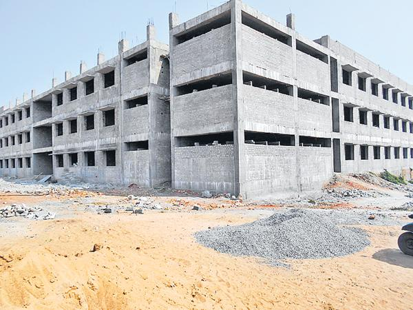 Department of Prisons in Construction sector - Sakshi