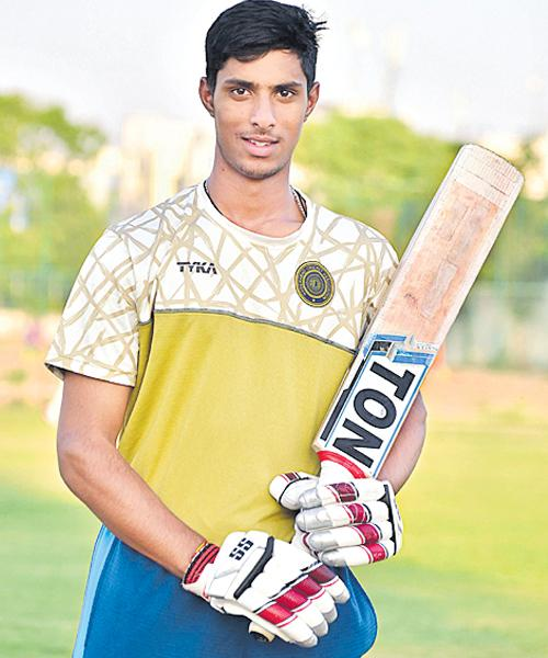 Hyderabad Cricketer Tilak Varma Selected in Indian Under 19 Team - Sakshi