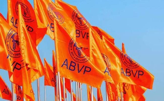 ABVP Give Demands To Private School Managements In Hyderabad - Sakshi