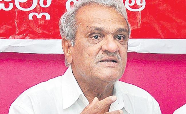CPI Narayana Says Gave Letter To UGC Chairman Over Teacher Reservations - Sakshi