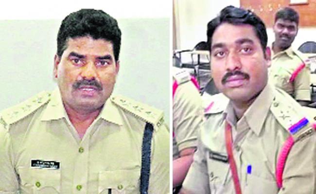 Adilabad Cops Suspended Over Corruption - Sakshi