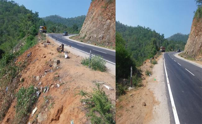 The Ghat Road Becomming Terror For Motorists In Tirupati Ballary Highway - Sakshi