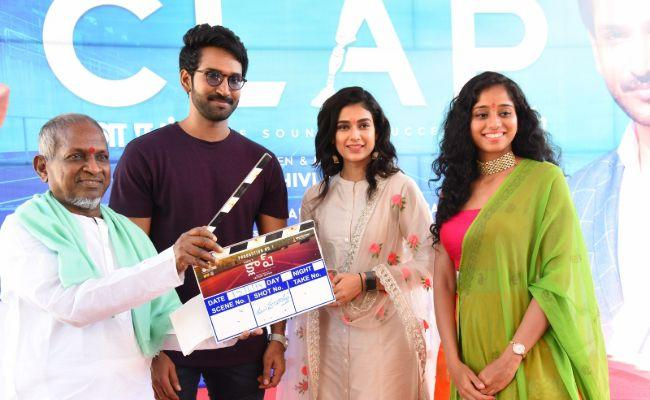 Aadhi Pinishetty Bilingual Sports Film Clap Launched - Sakshi