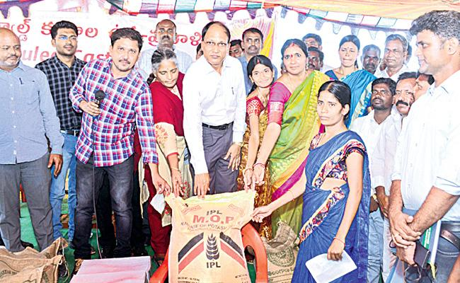 Padma Devender Reddy Talk On Agriculture Medak - Sakshi