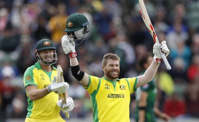 World Cup 2019 Australia Set 308 Runs Target For Pakistan - Sakshi