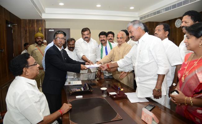 AP Assembly Speaker Election Notification Issued - Sakshi