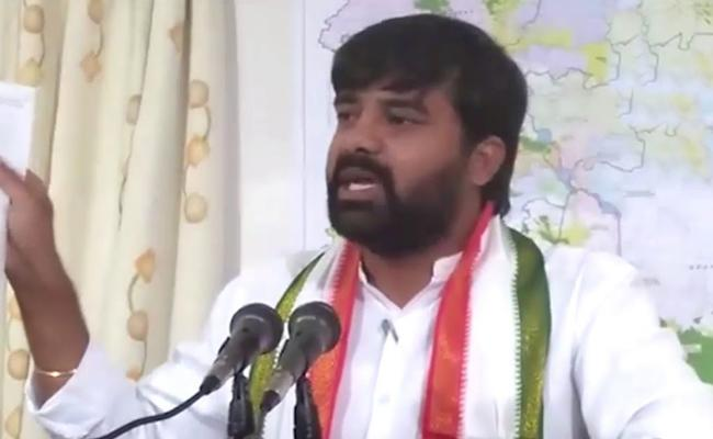 Vamshi Chander Reddy Slams KCR And Defected MLAs - Sakshi