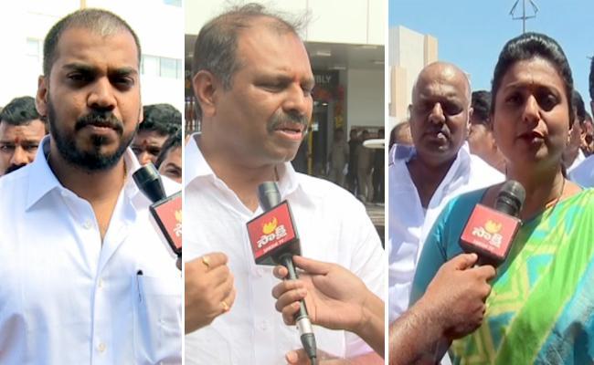 We Respect Opposition, says Minister Anil Kumar Yadav - Sakshi