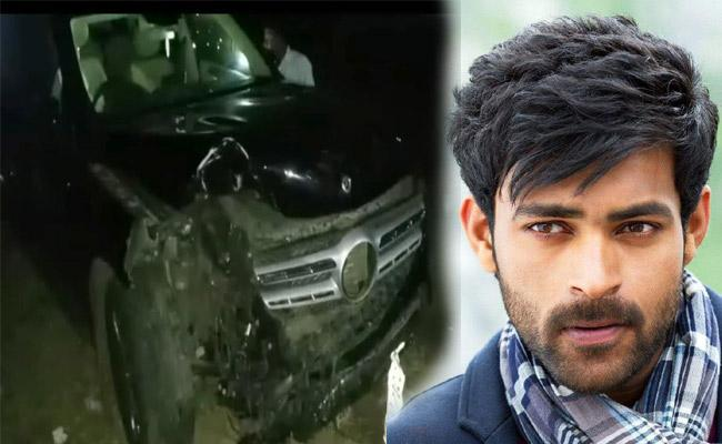 Varun Tej Car Met With Accident - Sakshi