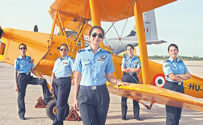 Compared to males, women pilots are now 12 point 4 percent of our country - Sakshi