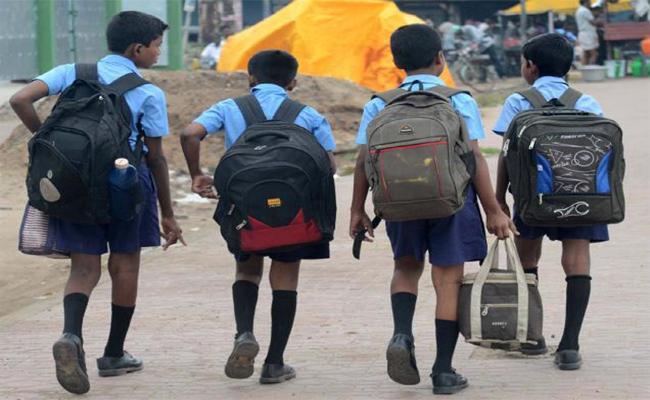 Schools Are  Reopening Today In Andha Pradesh - Sakshi