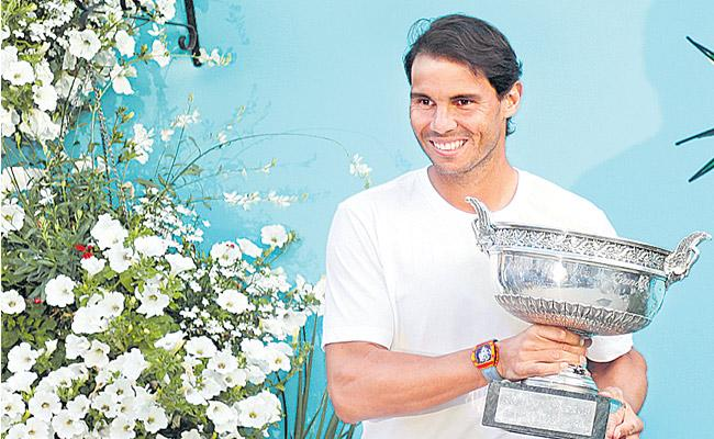 Roger Federers record is my motivation not obsession Says Rafael Nadal - Sakshi