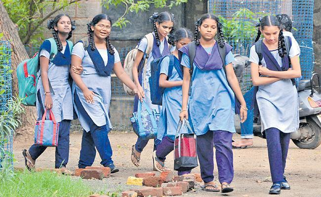 Telangana Schools Reopen After Summer - Sakshi