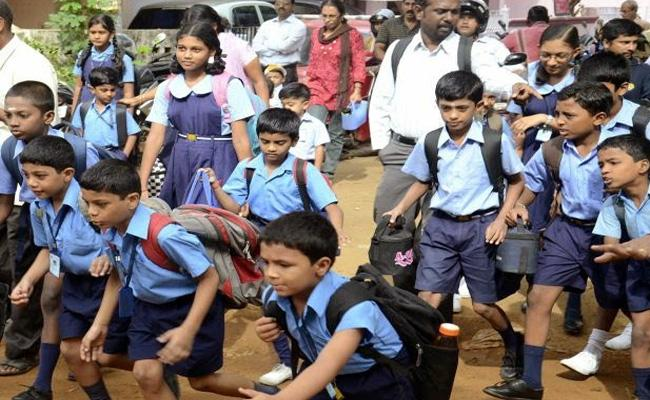 Telangana Govt Schools And Private Reopen - Sakshi