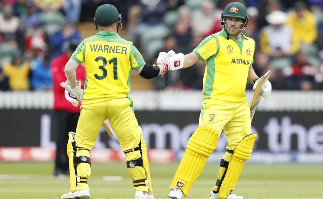 Warner And Finch is the first 100 run Opening Stand against Pakistan in World Cup - Sakshi