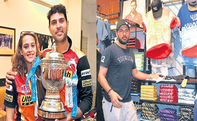 Hyderabad Fans React on Yuvraj Singh Retirement - Sakshi