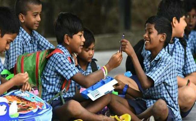Telangana All Schools Reopen After Summer - Sakshi