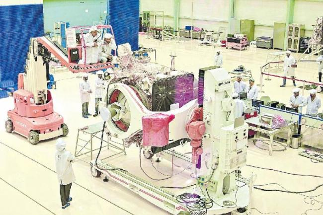 Chandrayaan-2 Launch On July 15 - Sakshi