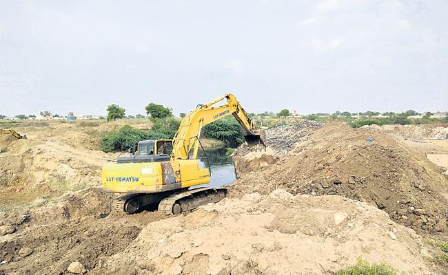 Government Land Mafia In Sangareddy - Sakshi