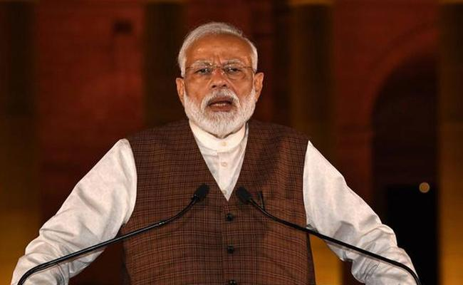 Modi will not use Pakistan airspace on way to Bishkek - Sakshi