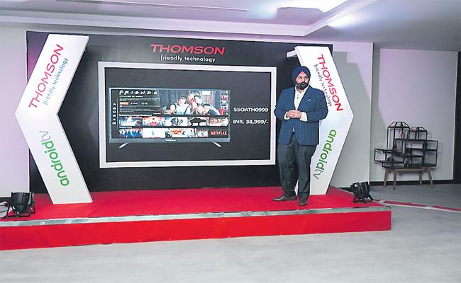 Thomson Launch Android TV - Sakshi