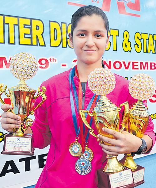 Naina Jaiswal in Dabang Delhi Team - Sakshi