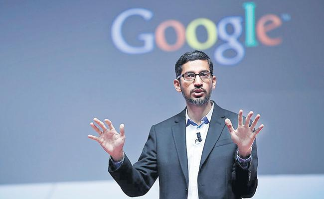 Indian Market Allowing Google To Develop New Products Says Sundar Pichai - Sakshi