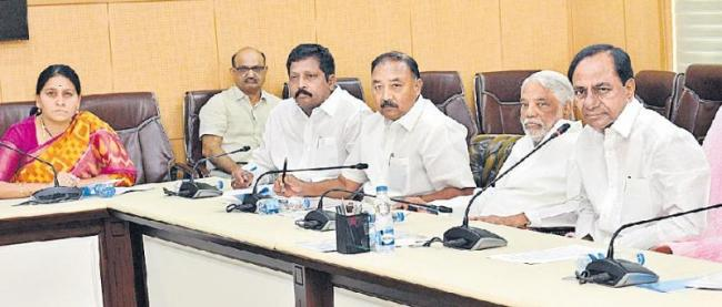 TRS to adopt cautious approach with BJP-led govt at Centre - Sakshi