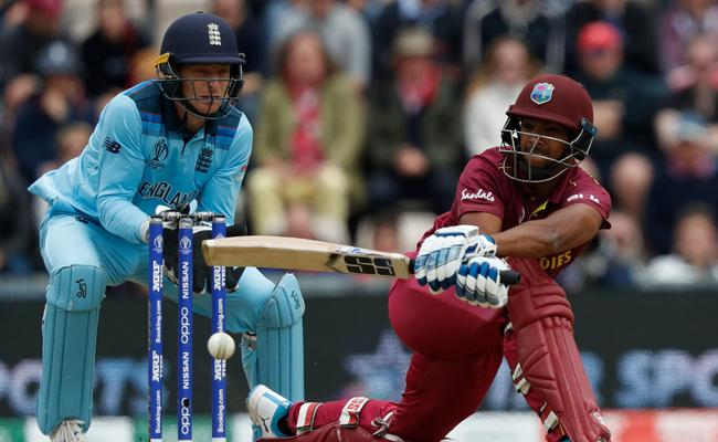 West Indies Set Target of 213 Runs Against England - Sakshi