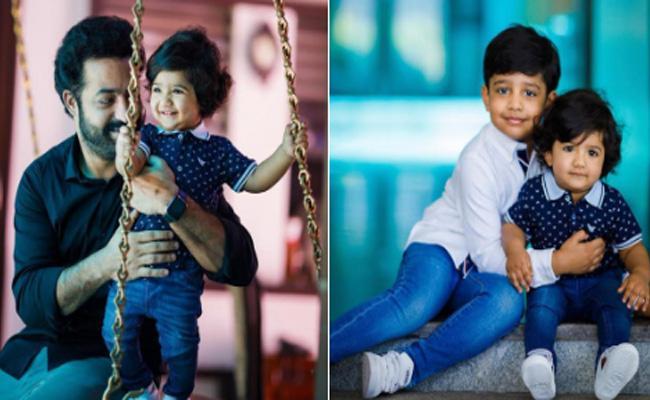 NTR Younger Son Bhargav Ram Turns One Year - Sakshi