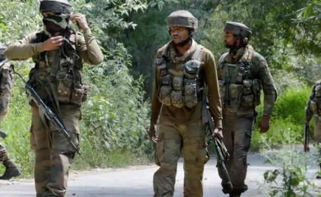 Two Terrorists Killed By CRPF Encounter In Pulwama - Sakshi