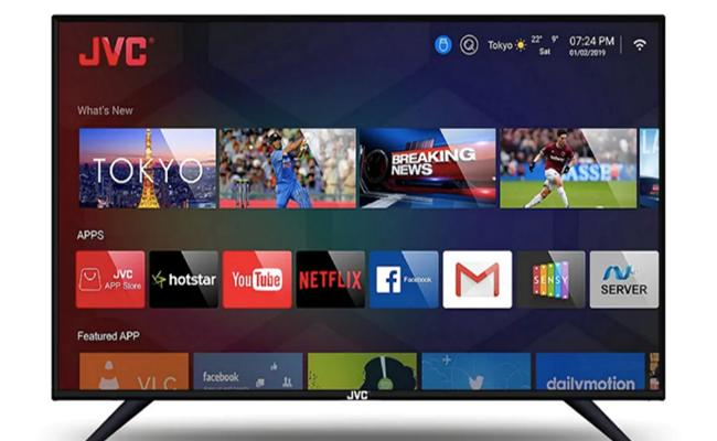 JVC Launches 6 New Smart LED TVs in India, Prices Start at Rs. 7,499 - Sakshi