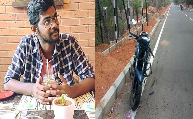 Veterinary student died in road accident - Sakshi