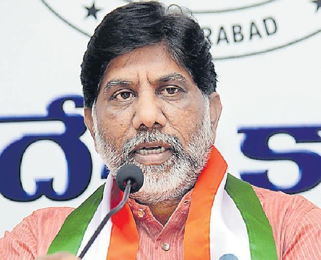Congress MLA Bhatti Vikramarka Slams CM KCR Over Kaleshwaram project - Sakshi