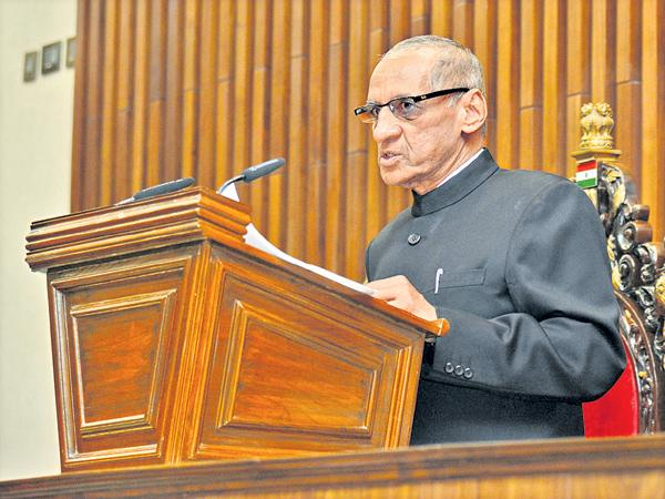 Governor Narasimhan Says Non-corrupt governance is the aim - Sakshi