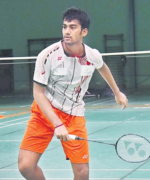 Siril Varma in Quarters of Badminton Tourney - Sakshi