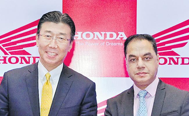 Honda India CEO Chit Chat With Sakshi