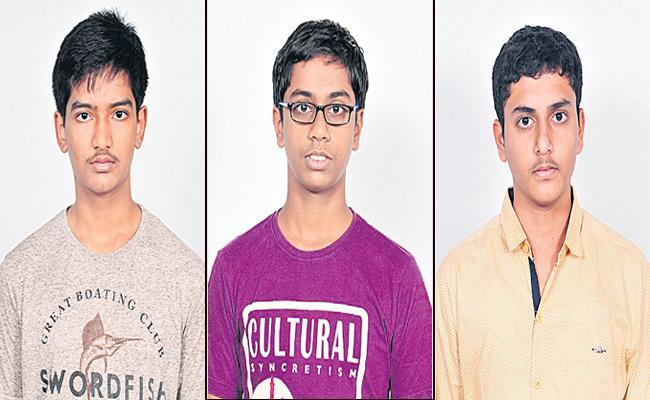 Telugu Students Shine In JEE Advanced Results - Sakshi