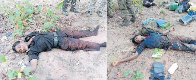 5 Policemen Killed In Ambush By Maoists Near Jharkhand - Sakshi
