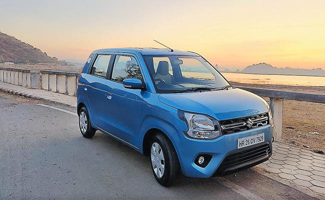Maruti Suzuki India Launch Wagon R Car - Sakshi