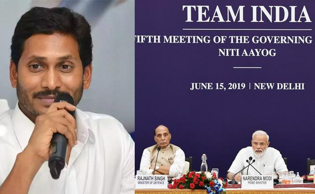 CM YS Jagan Speech In NITI Aayog - Sakshi